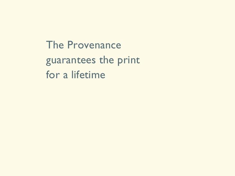 10 The Provenance