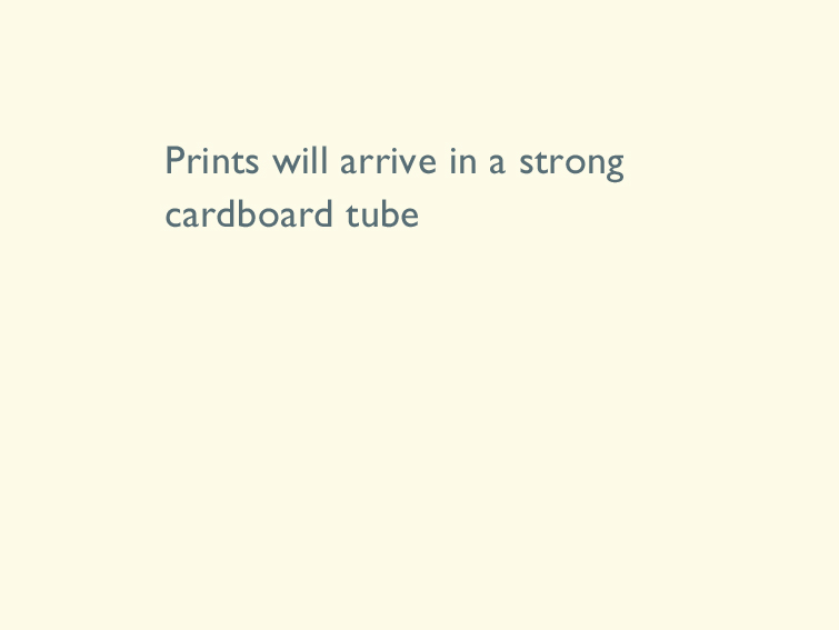 8 Prints will arrive