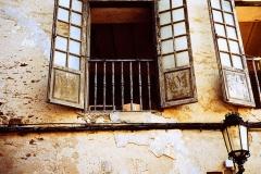 Window in Galicia - Spain