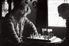 Marcus playing chess