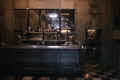 Bar through a window