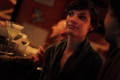 Girl at the bar