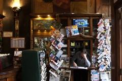 The kiosk in the bar