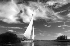 A full sail