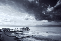 The pier and the sky