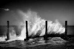 Breaking the waves No3