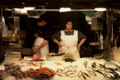 The empty till :  Barcelona Fish Market