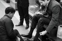 The boot shine : London