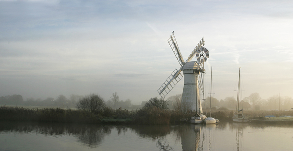 Clearing Mist Thurne