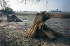 The scythe at rest