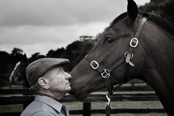 Photograph of Monty Roberts the Horse Whisperer.