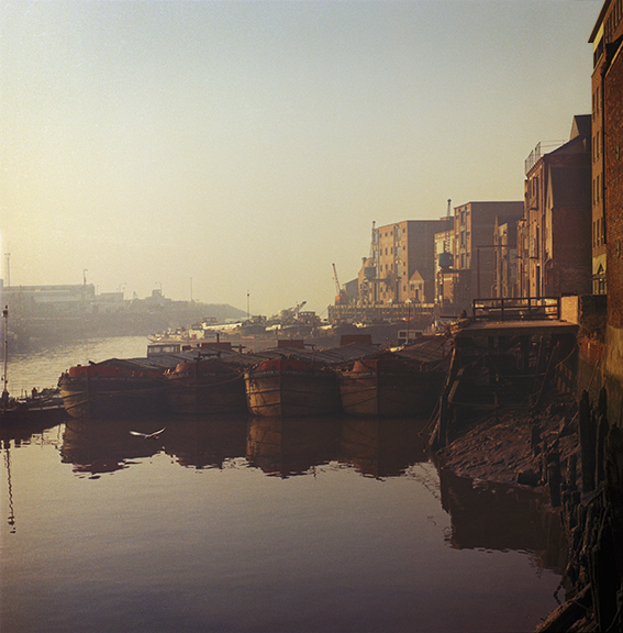 Photograph of the river Hull 1971