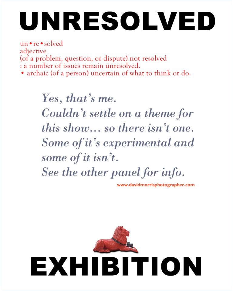 Exhibition at the Red Lion details.