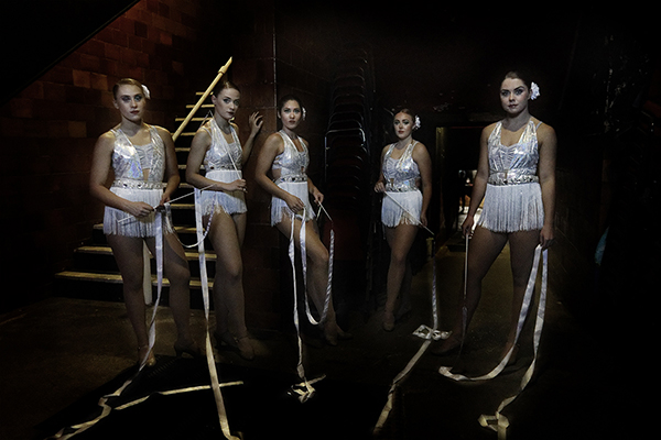 Photograph of dancers at the Hippodrome Circus Great Yarmouth.