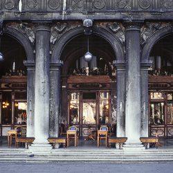 Photograph of Café Florian Venice.